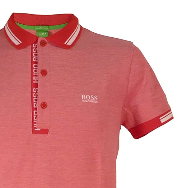 504f1872d Image Unavailable. Image not available for. Colour: HUGO BOSS GREEN Men's  PAULE ...