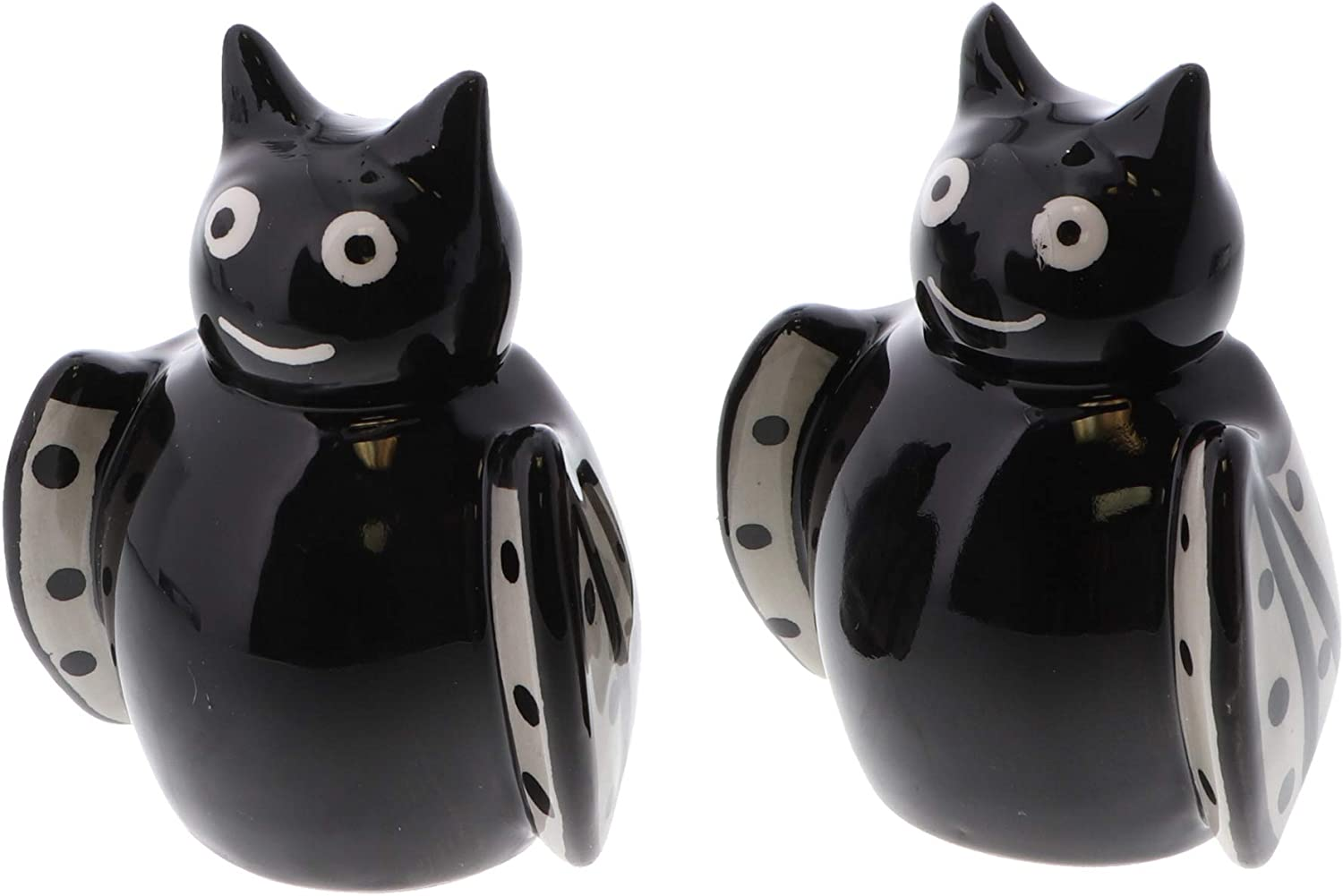Halloween Bat Salt and Pepper Shakers