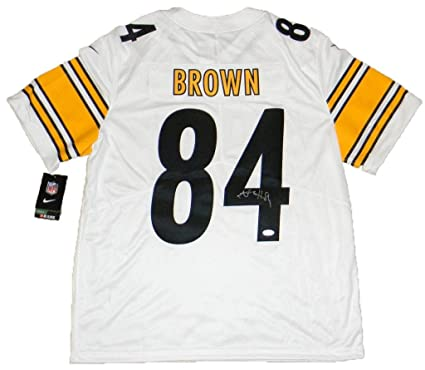 sneakers for cheap 33564 be8d2 Signed Antonio Brown Jersey - #84 Nike Limited - JSA ...