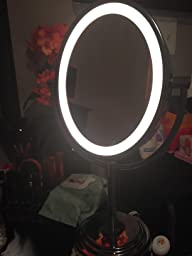 Amazon Com Conair Oval Double Sided Lighted Mirror