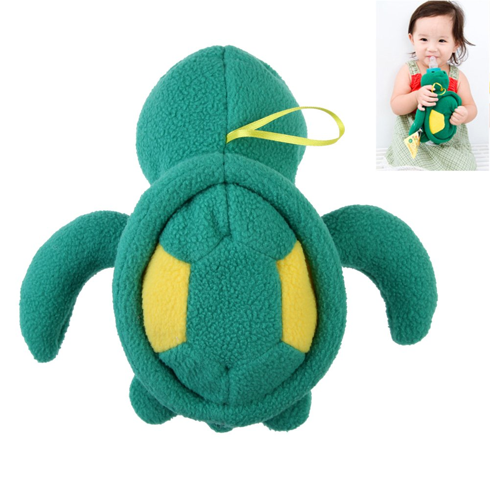 Chinatera Baby Milk Bottle Warm Holder Plush Pouch Cover Travel Feeding Bag (Green)