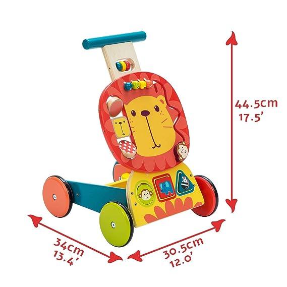 YIAIYAS Andador for bebés, Uso 3 en 1 como Juguete for ...