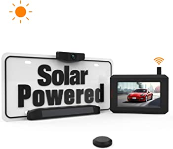 Boscam Solar Wireless Backup Camera with Stable Digital Signal