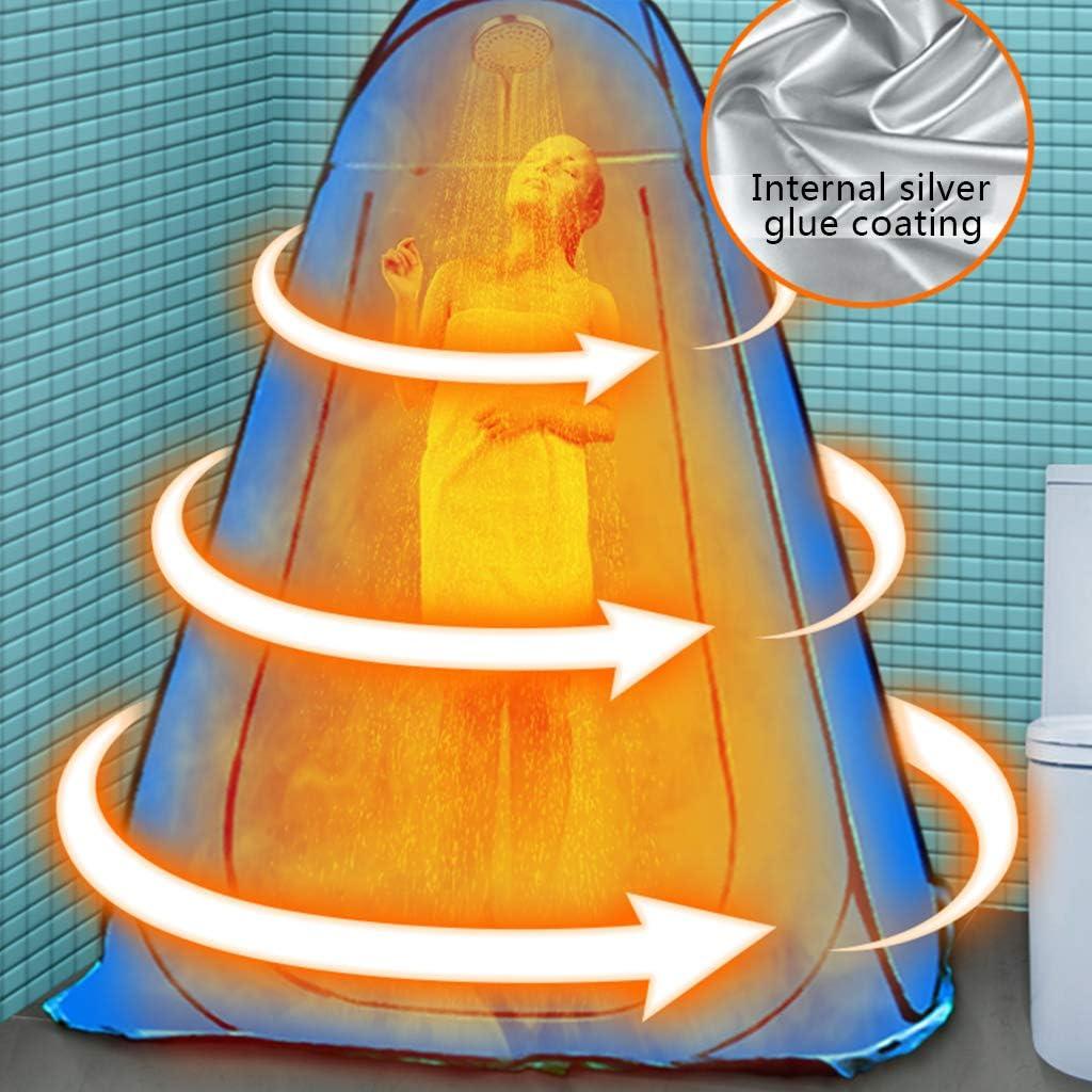 ESTEAR Vestidor portátil Vestidor emergente Tienda de baño Aseo Exterior móvil para Playa Camping Picnic Pesca Blue