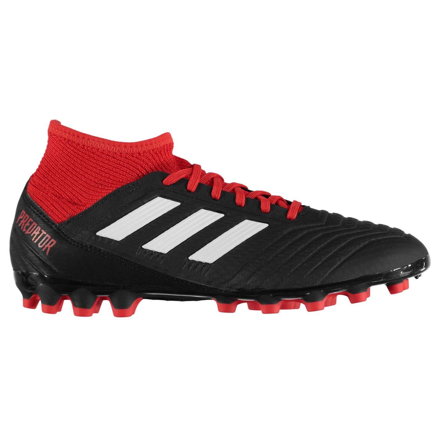 Adidas Herren PROTator 18.3 Ag Fußballschuhe, Weiß Schwarz Rot, 40 2 3 EU