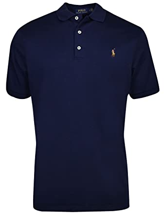 e31abff094 Polo Ralph Lauren- Soft Touch Polo French Navy Size Extra Large at ...