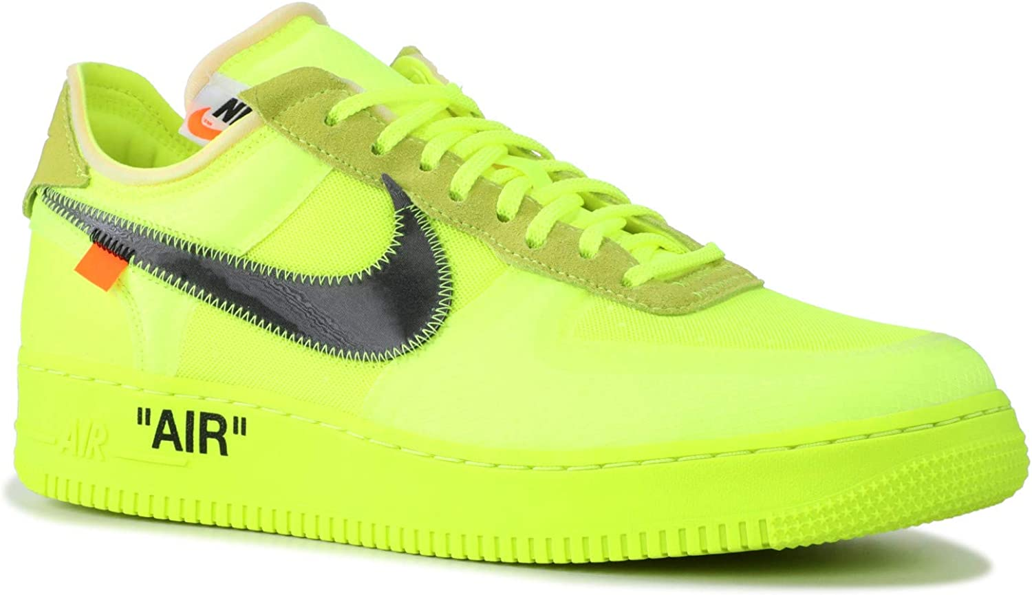 Nike The 10 Air Force 1 Low 'off White' AO4606 700: Amazon