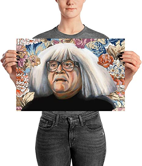 Baggage ID Tag Danny Devito Face Funny Always Sunny In Philadelphia Travel Accessories