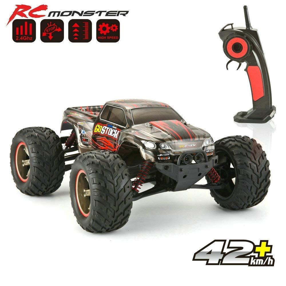 ... Road Vehículo Eléctrico 2.4 G Alta Velocidad de 42 KM/H Todo Terreno kstarz-Toys - Coche teledirigido para niños Exterior: Amazon.es: Juguetes y juegos