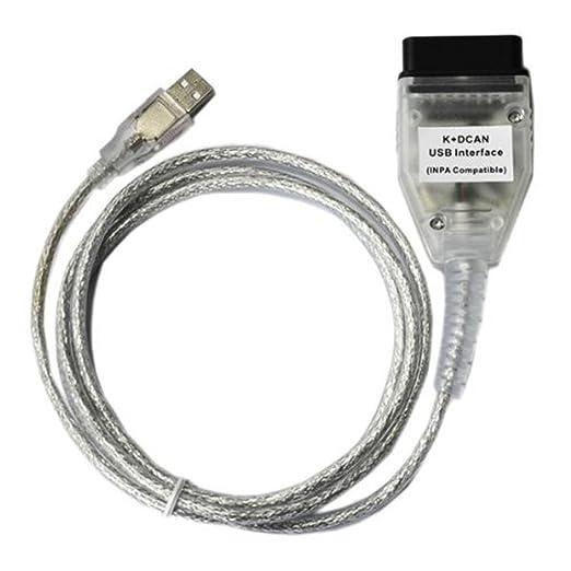 3 opinioni per Eximtrade Auto OBD2 OBDII USB Interfaccia INPA/Ediabas- K + DCAN per BMW 1998 a