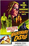 Nightmare Castle - 1965 - Movie Poster