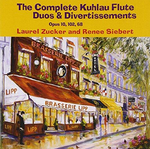Complete Kuhlau Flute Duos & Divertissements Opus