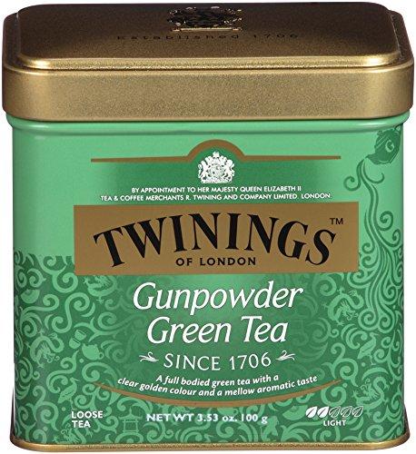 Twinings of London Green Gunpowder Loose Tea Tins, 3.53 Ounce (Pack of 6) ()