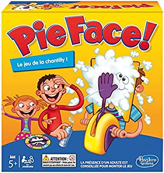 Hasbro - Juegos de Sociedad - Pie Face: Amazon.es: Juguetes y juegos
