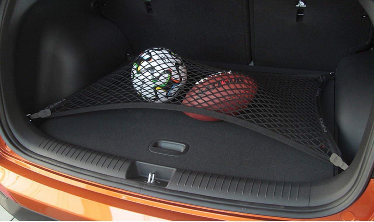 pegasuss ajustement personnalis/é haute /élastique sol style filet de coffre de rangement Bagage Arri/ère Pour Audi Q7