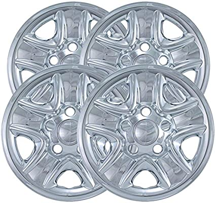 Amazon.com: Upgrade Your Auto 18-inch Chrome Wheel Skin Covers (Set of 4) for 2007-2014 Toyota Tundra: Automotive