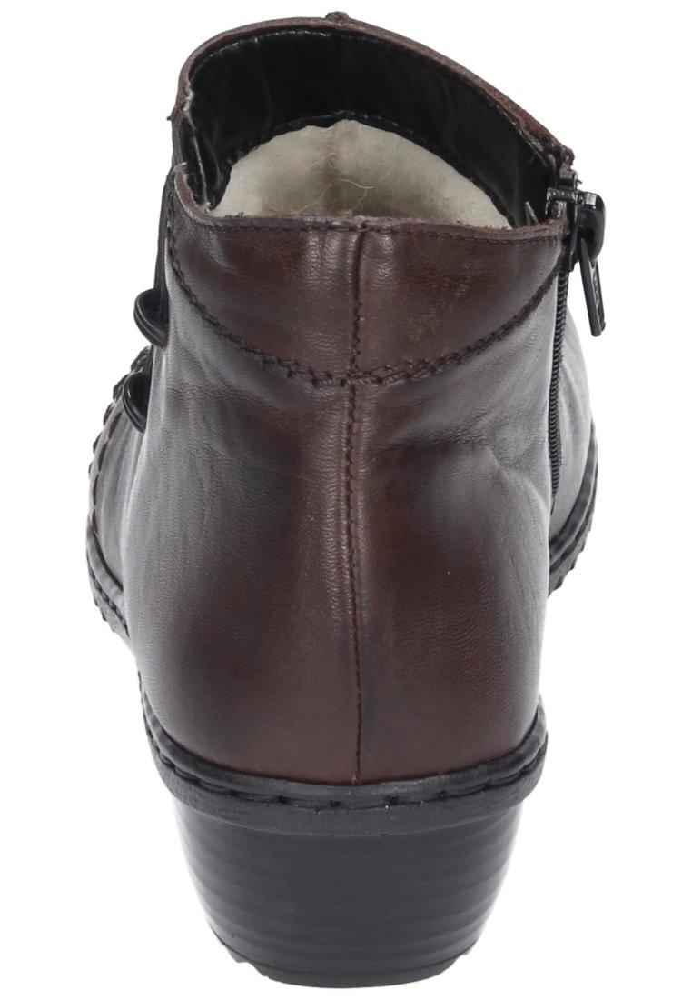 Rieker Girls' A Wter Boot I Will Pass Dark Brown Geprägtes Leder Uniform Dress Shoes 42 by Rieker (Image #2)