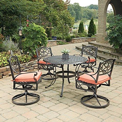 Biscayne Bronze 5Piece Round Outdoor Dining Set by Home - Biscayne Dining Set