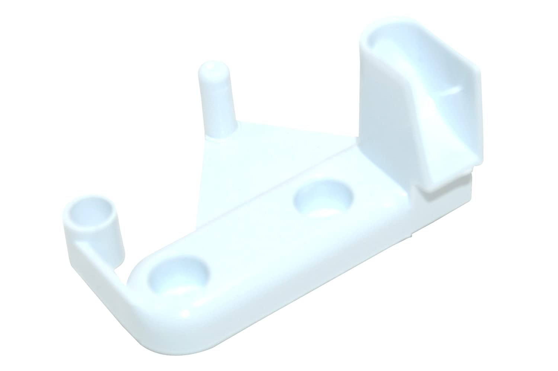 Ariston Hotpoint Indesit Fridge Freezer Freezer Flap Hinge. Genuine part number C00075600