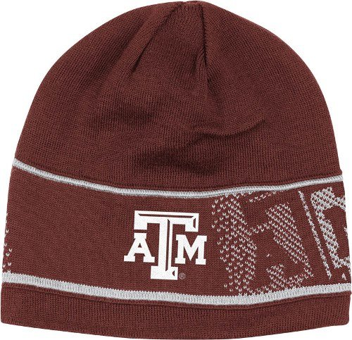 adidas Texas A&M Aggies 2013 Sideline Player Cuffless Reversible Knit ()