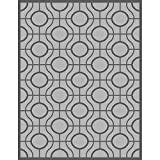 Cheap Safavieh Courtyard Collection CY6115-78 Light Grey and Anthracite Indoor/Outdoor Area Rug (5'3″ x 7'7″)