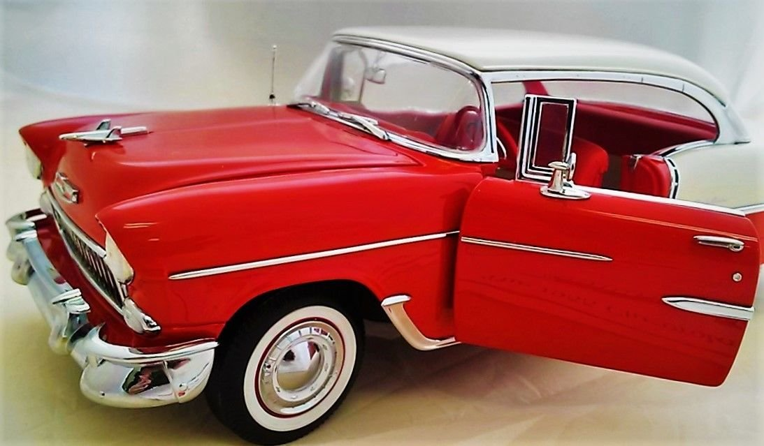 Amazon 1955 Chevy Chevrolet 1 Vintage Bel Air Concept Collector