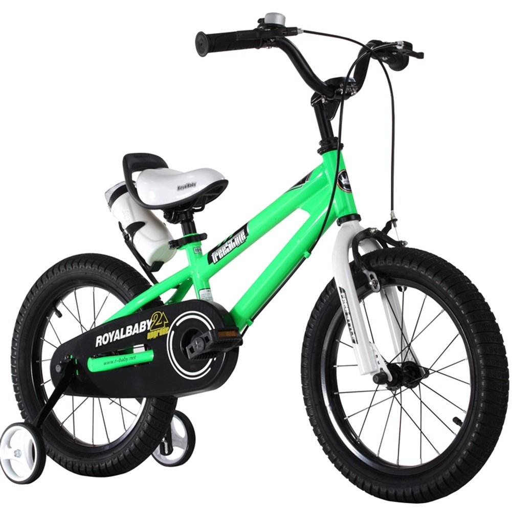 XQ TY-112ガールズ12/14/16/18インチバイク グリーン 子ども用自転車 ( サイズ さいず : 16 Inch ) B07C5PLYFQ 16 Inch 16 Inch
