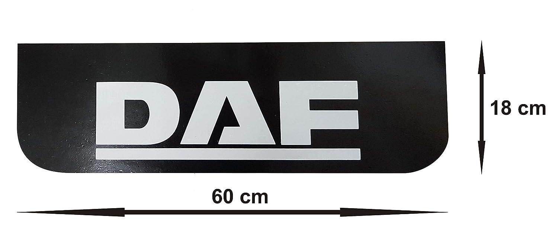 2 St/ück Gummi-Schutzbleche schwarz Schmutzf/änger LKW Anh/änger Zubeh/ör 60 x 18 cm