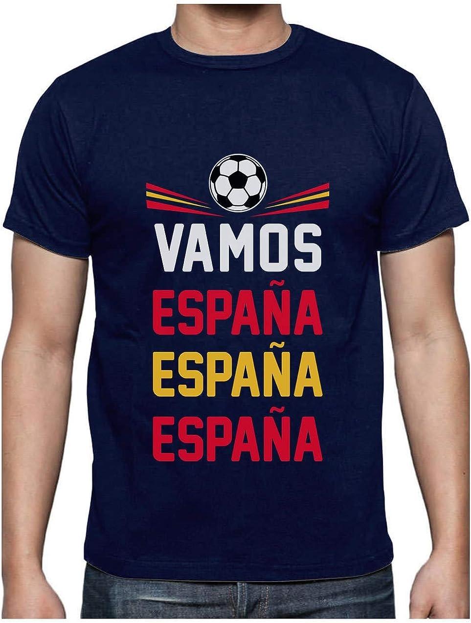 Green Turtle T-Shirts Camiseta para Hombre - Vamos España - Apoyemos a la elección Española!: Amazon.es: Ropa y accesorios