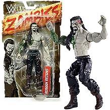 Mattel Year 2016 World Wresling Entertainment WWE Zombies Series 7 Inch Tall Figure - Zombified ROMAN REIGNS