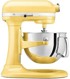 Amazon.com: KitchenAid KSM150PSMY Artisan Series 5-Qt. Stand Mixer ...