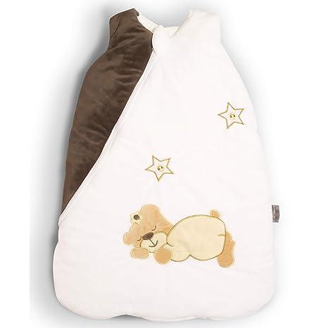 MF-Products Saco de dormir para bebés sin mangas de algodón para niñas de 70