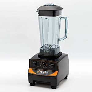 Aistan Professional 5200 Series Blender, Professional-Grade, 2 Liters Container BPA FREE 3HP(Black)