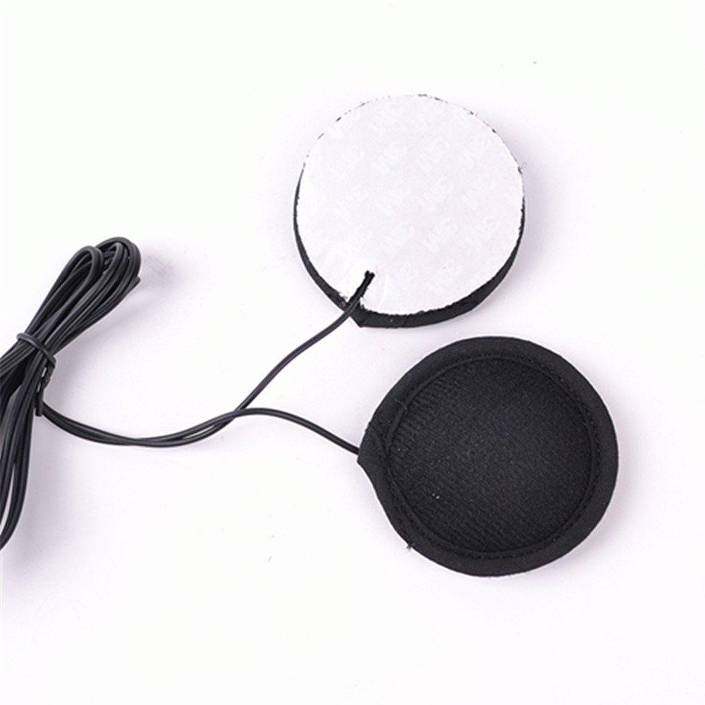 Motorcycle Helmet Headset Earphone Stereo Speakers 3M glue Earphone for MP3 MP4 GPS Phone HAP COMINU015833