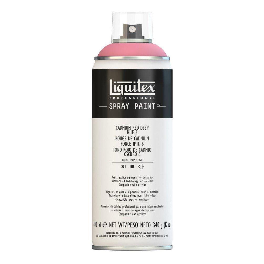 Liquitex プロフェッショナル スプレーペイント 12オンス 400ml Can レッド 4456311 B008N7HGT0 Cadmium Red Deep Hue 6 Cadmium Red Deep Hue 6