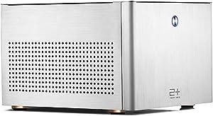 GOLDEN FIELD N-2S PC Case ITX Computer Case Mini Size Aluminium PC Desktop Casing Sliver