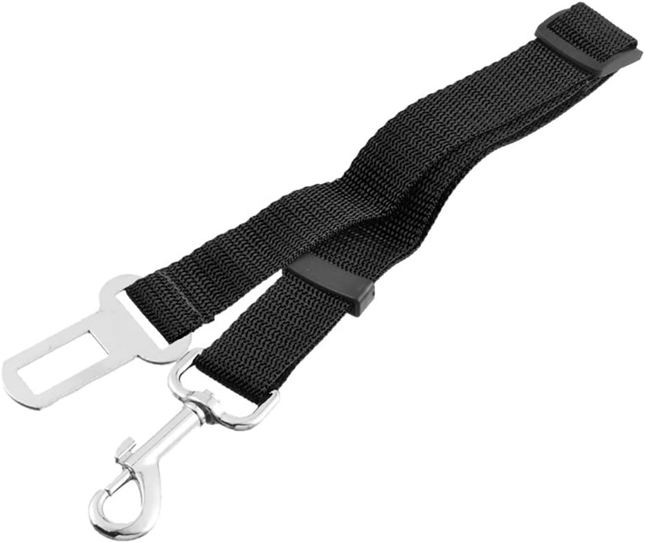 Roblue Pet Dog Harness And Car Safety Seat Belt Breathable And Durable Convenient To Travel For Small And Medium Dog 1 Set