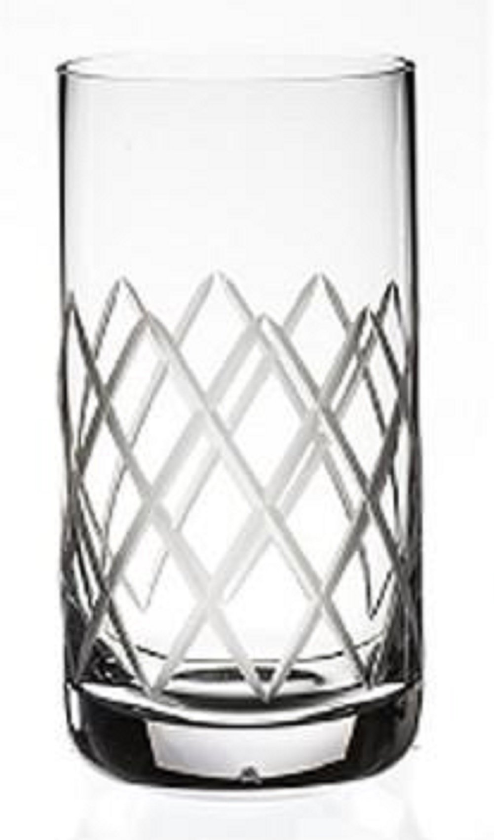 Steelite Rona Diamond Cut 12.25 Oz. Highball Glasses, Set of 6