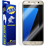 Armorsuit MilitaryShield - Samsung Galaxy S7 Edge Screen Protector [Case Friendly] w/ Lifetime Replacements - Anti-Bubble Ult