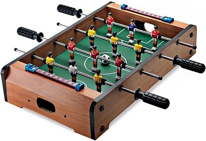Retro de madera futbolín Juego de fútbol Fútbol Juego de mesa ...