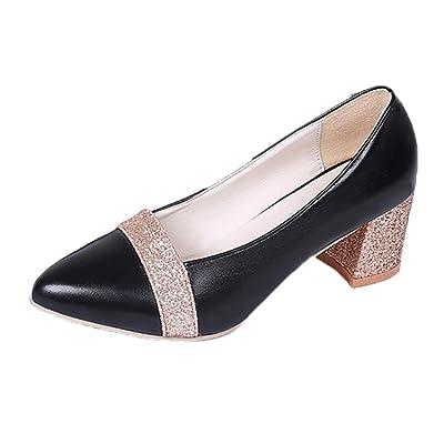 Elevin(TM) 2019Women Fashion Elegant High Heel Pointed Shoes Casual Shoes Wedding Shoes