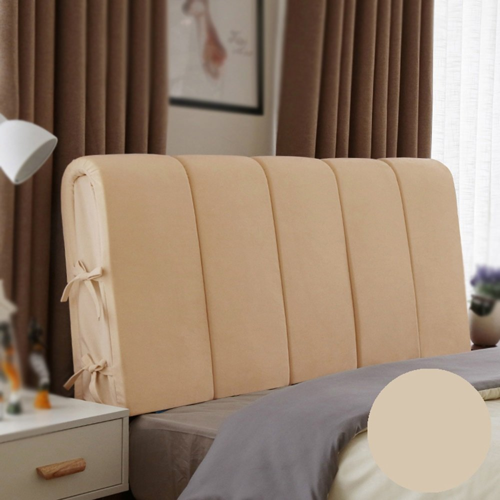 Geometrical headboard cushion / bedside soft bag backrest / large backrest / comfortable bed cushion ( Color : B , Size : 16060cm )