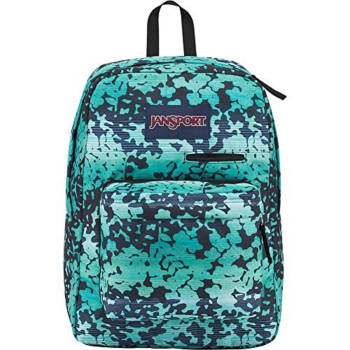 JanSport Digibreak Laptop Backpack- Sale Colors (Floral Shadow)