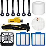 aoteng Accessories Kit for Shark IQ R101AE (RV1001AE) IQ R101 (RV1001) Robot Vacuum Cleaner Replacement Parts Pack of Main Br