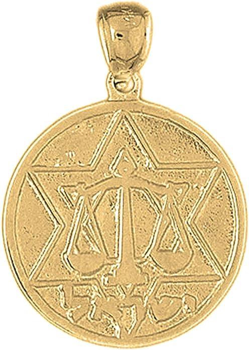 18 mm Sterling Silver 925 Star Of David Pendant Jewels Obsession Star Of David Pendant
