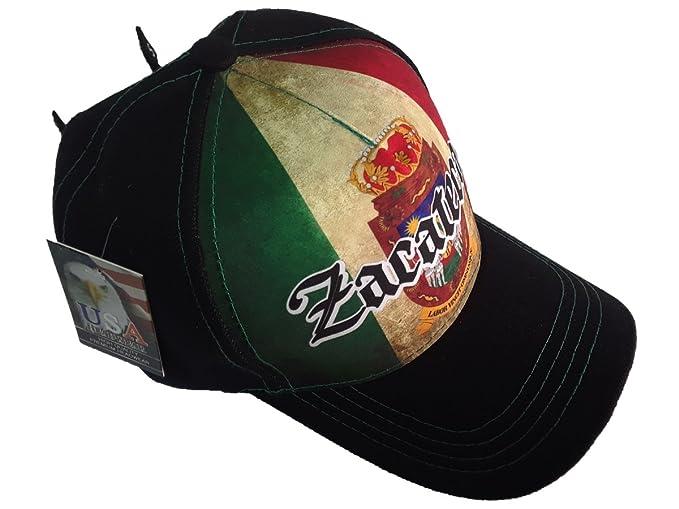 Gorra Charra Zacatecas ID 216 GOX2 Mexico/Negro at Amazon Mens Clothing store: