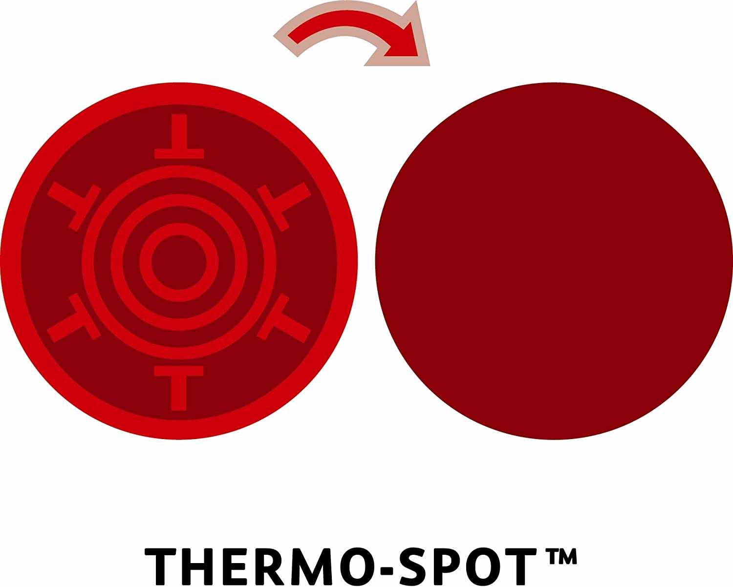Tefal d08619/ Evidence Thermo-Spot Optimal Evidence Wok po/êle sans Couvercle 28/ cm