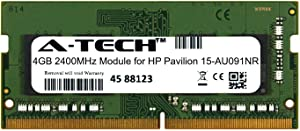 A-Tech 4GB Module for HP Pavilion 15-AU091NR Laptop & Notebook Compatible DDR4 2400Mhz Memory Ram (ATMS308389A25824X1)