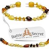 New Amber Teething Bracelet or Anklet / 50% Richer