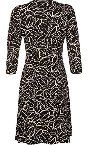 3 Sleeve Black A King Louie Line 4 Women's Dress 8qI87pYw